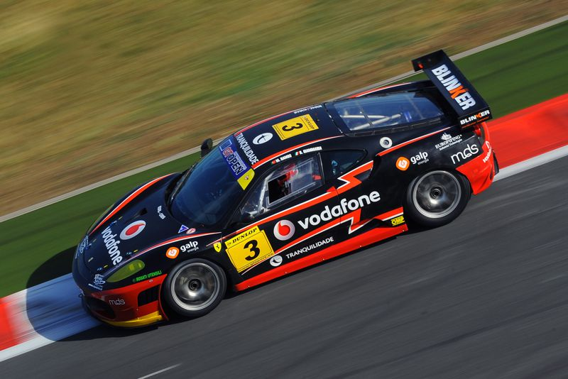 Miguel Ramos in Magny-Cours - International Open GT 2011