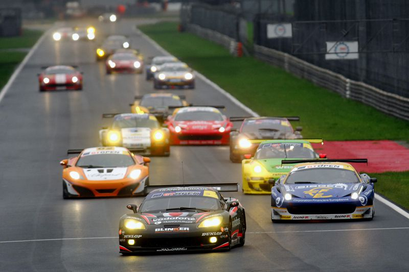 Miguel Ramos in Monza - International Open GT 2012