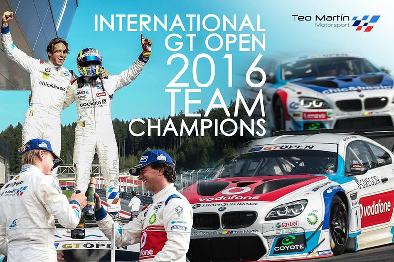 Miguel Ramos: International GT Open 2015 Champion!