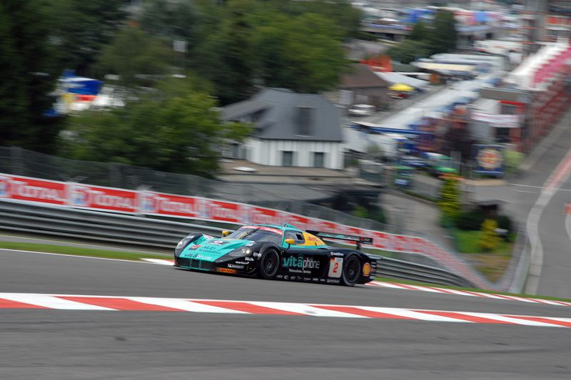 The season 2009 of Miguel Ramos in images - SPA Francorchamps - FIA GT