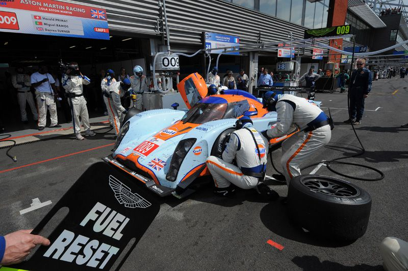 The season 2009 of Miguel Ramos in images - SPA - Le Mans Series