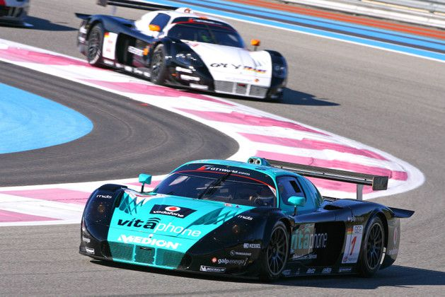 The season 2010 of Miguel Ramos in images - Tests Paul Ricard