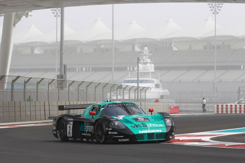 The season 2010 of Miguel Ramos in images - Abu Dhabi