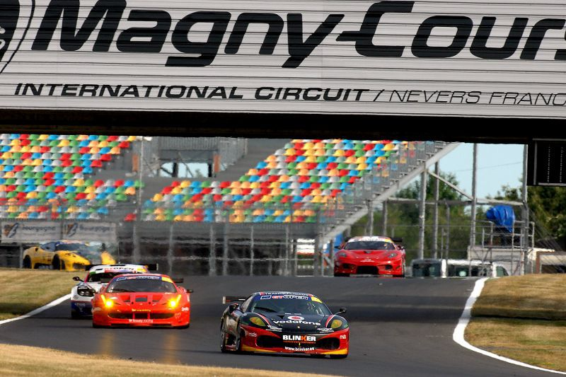 The season 2011 of Miguel Ramos in images - Magny-Cours