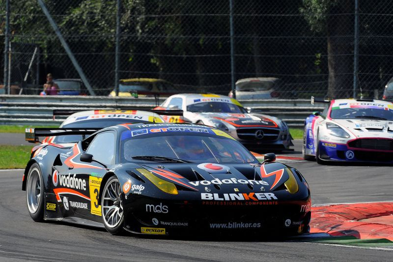 The season 2011 of Miguel Ramos in images - Monza