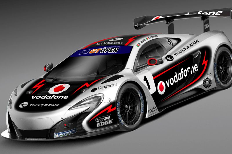 The season 2015 of Miguel Ramos in images - McLaren